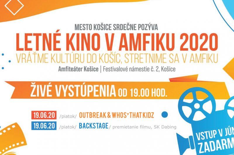 Letné kino v Amfiku