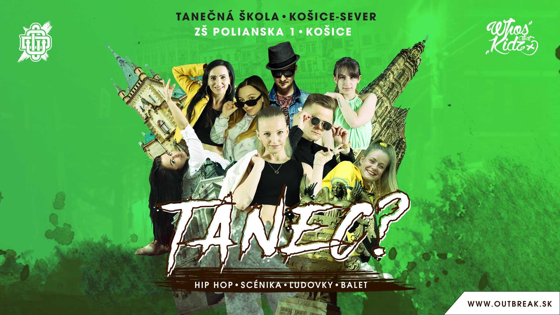 Tanečná škola Fénix, ZŠ Polianská 1, Košice-Sever ( Podhradová )